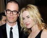 Kate poses with Guy Pearce at the 2010 BAFTAs After Party