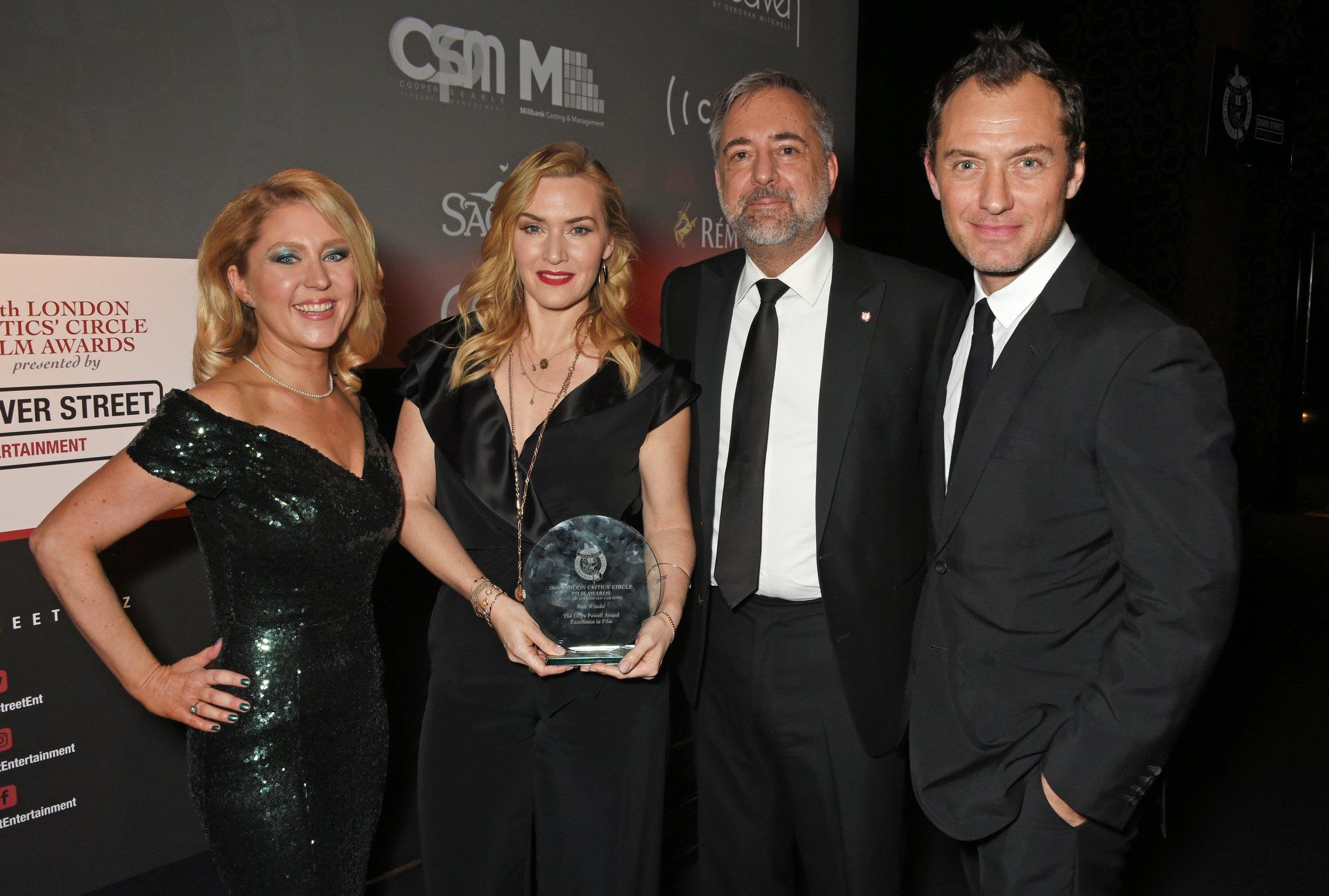 Gallery Update: London Film Critics' Circle Awards